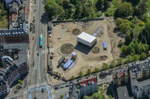Metrobyggeriet på Nørrebros Runddel